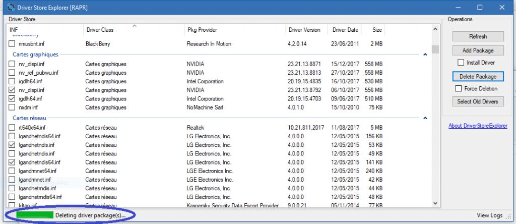 DriverStore Explorer tutoriel complet sospc.name 1