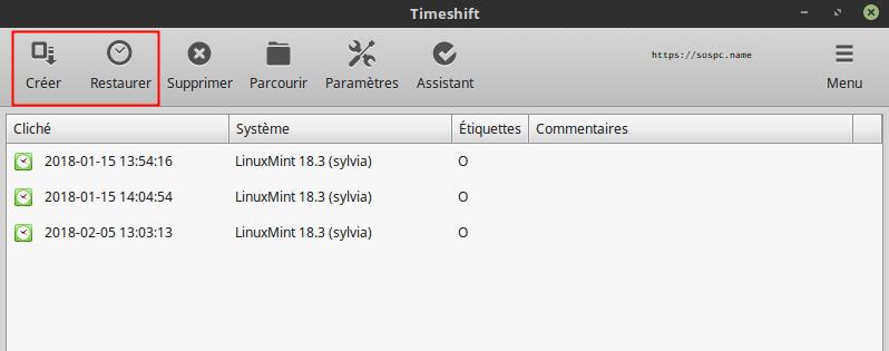 Timeshift. Comment sauvegarder Linux. Tutoriel complet.