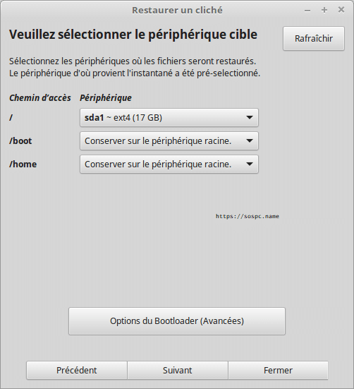 linux restauration tutoriel complet.