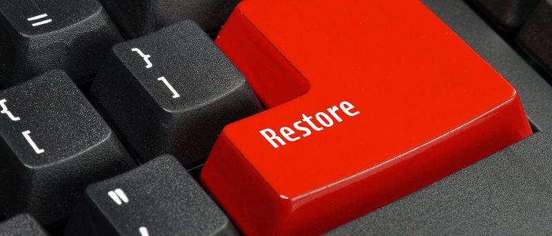 linux restauration