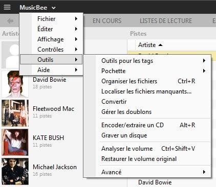 MusicBee un lecteur audio sympa, tutoriel capture 16