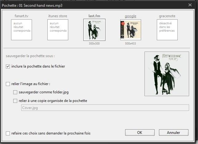MusicBee lecteur audio / gestionnaire tutoriel.sospc.name.