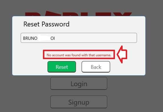 roblox perte du mot de passe
