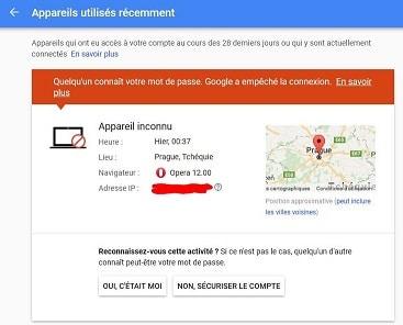 Alerte Gmail