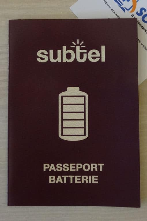 subtel passeport batterie