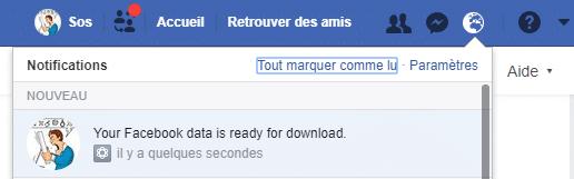 Comment sauvegarder les données de son Compte Facebook. Tutoriel, capture 9