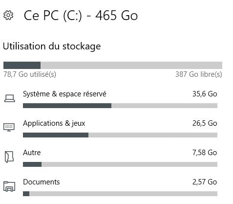Nettoyage disque avec Windows 10. Tutoriel.