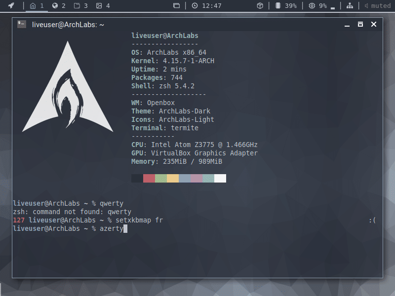 Linux ArchLabs, TUTORIEL d'INSTALLATION sur SOSPC.name.