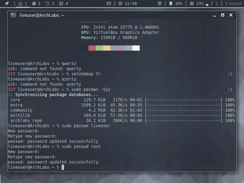 Distribution Linux ArchLabs, comment l'installer.