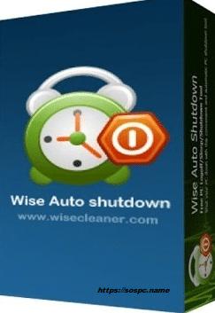 Wise Auto Shutdown logo boite