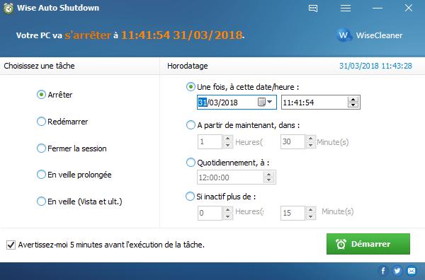 Wise Auto Shutdown,tutoriel capture 1 sospc.name