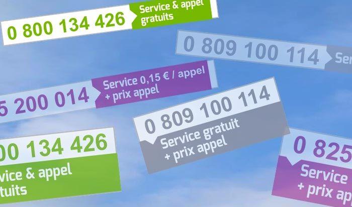 Numéros spéciaux et surtaxés, connaitre les tarifs et les services associés.
