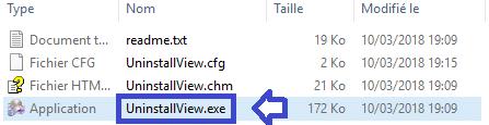 UninstallView, remplacer le panneau de désinstallation de Windows SOSPC