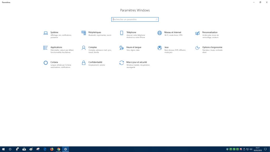 Windows 10 Spring Creators Update 1803, les nouveautés.