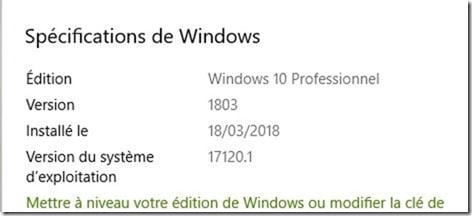 Windows 10 Spring Creators Update 1803 premières impressions de joseph sur Sospc.name C