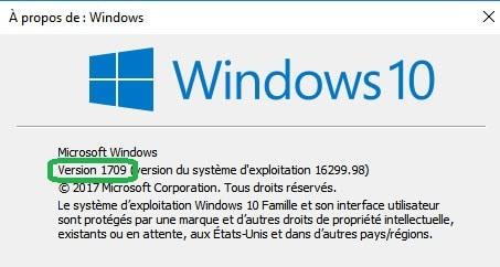 Windows 10 : fin du support de la version 1607