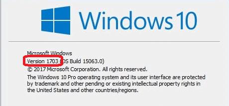 attention Windows 10 : fin du support de la version 1607 à partir d' Avril 2018,