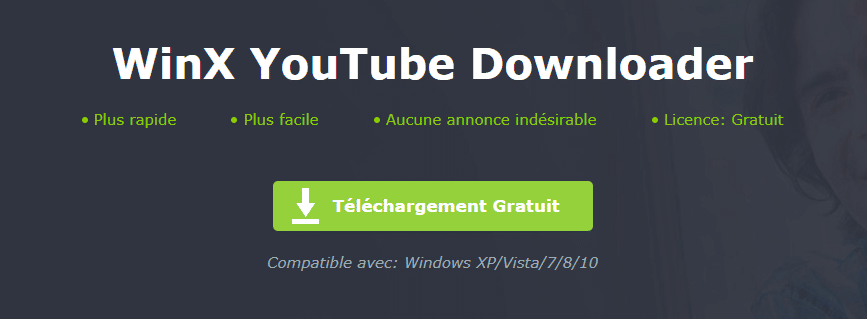 Free WinX YouTube Downloader. télécharger