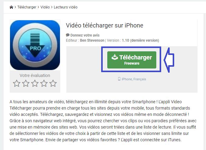 comment enregistrer vidéo sur Iphone