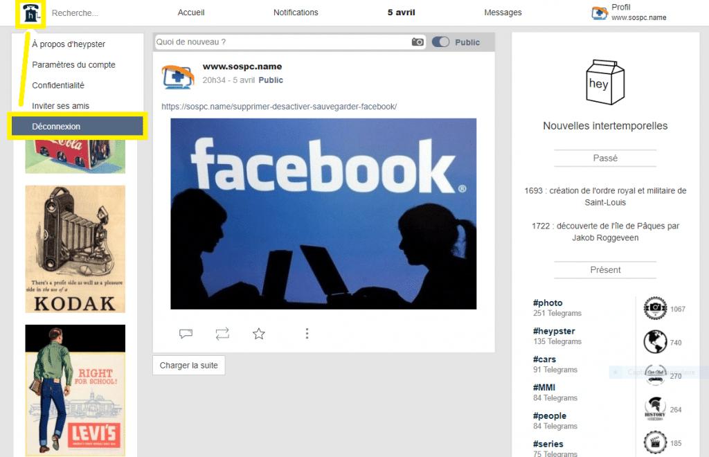 Heypster : le réseau social à découvrir d'urgence