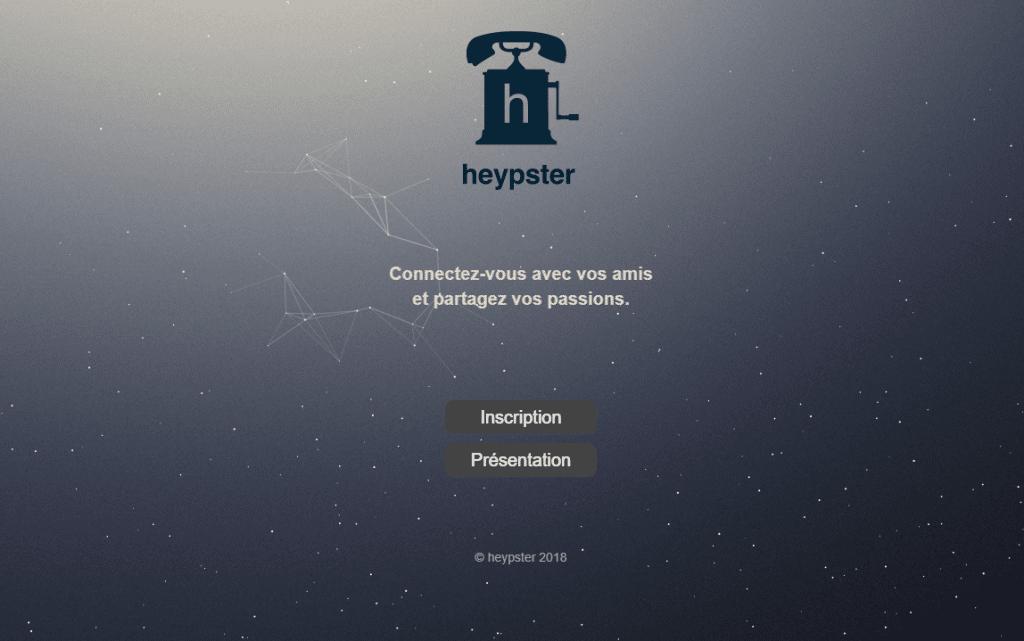 heypster nouveau réseau social