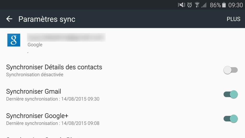 Passage de l'iPhone à Android : comment transférer vos données? Tutoriel Sospc.name.