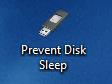 Prevent Disk Sleep raccourci