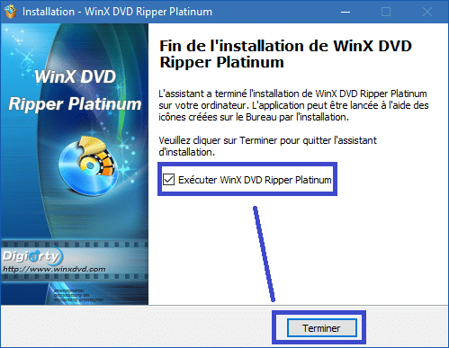 WinX DVD Ripper Platinum installation 9