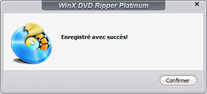 WinX DVD Ripper Platinum activation 3