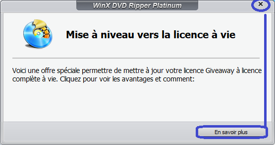 WinX DVD Ripper Platinum activation 4