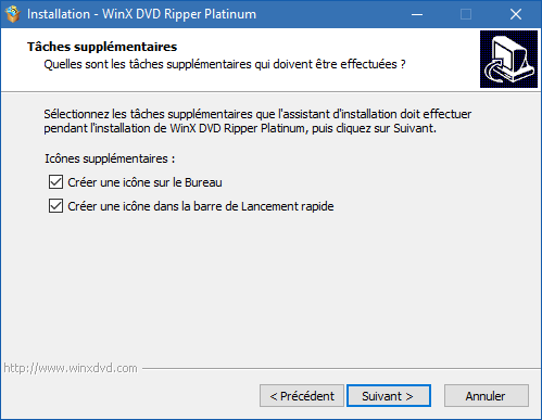 WinX DVD Ripper Platinum installation 6
