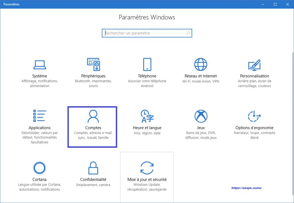 Windows 10 : supprimer la demande de mot de passe à la sortie de veille. Sospc.