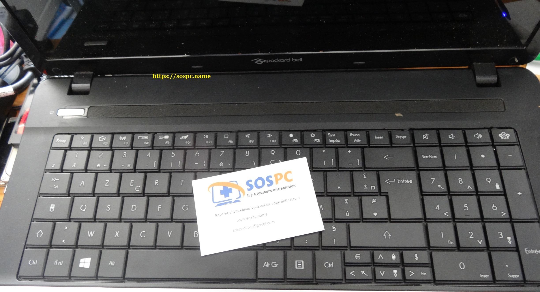 Changement du clavier d 39 un ordinateur portable cas for Les parties du clavier