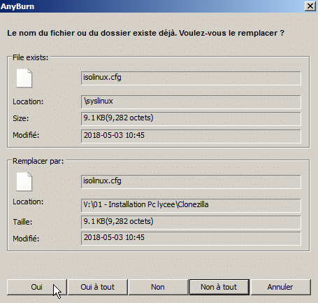 Clonezilla : Backup/Clonage de Disque, tutoriel sospc.name capture 24