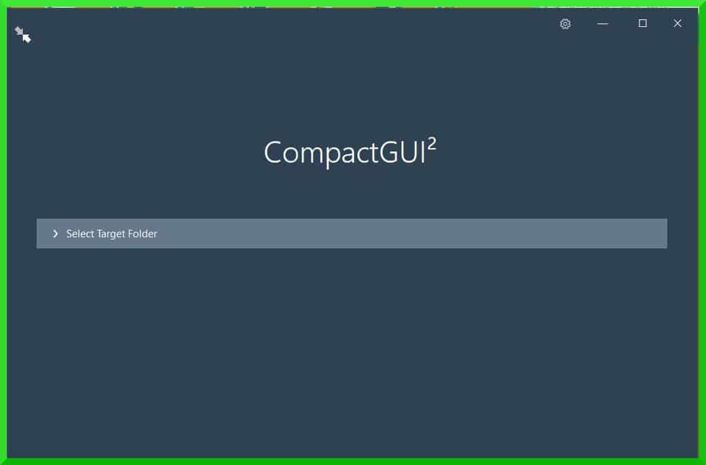 gagner de l'espace disque en compressant ses programmes avec Compact GUI