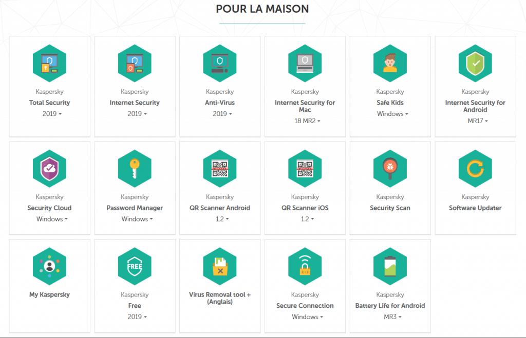 Kaspersky Internet Security 2019 mode d'emploi français