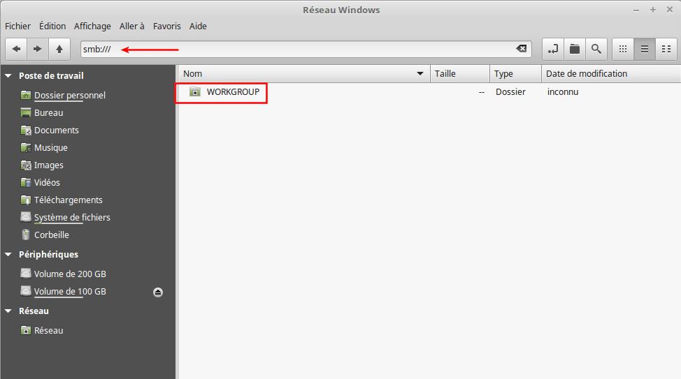 Partagez vos fichiers sous Linux tutoriel capture 13