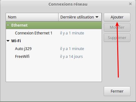 Partagez vos fichiers sous Linux tutoriel capture 2