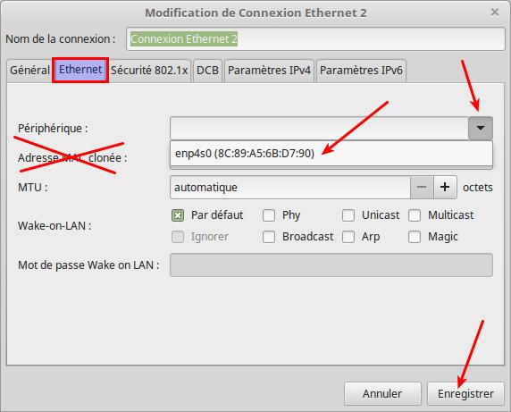 Partagez vos fichiers sous Linux tutoriel capture 4