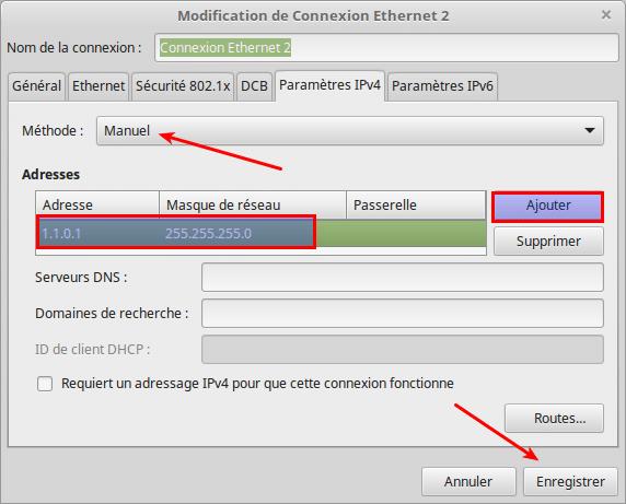 Partagez vos fichiers sous Linux tutoriel capture 5