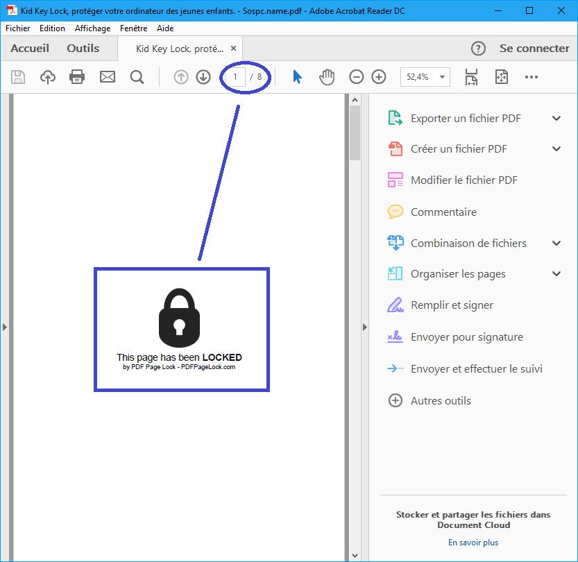 Pdf Page Lock. Tutoriel sur sospc.name. Masquer pages Pdf. Tutoriel complet.