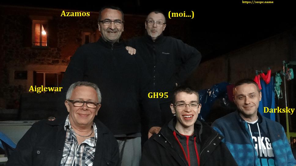 Rencontre en Auvergne avec des Contributeurs et un lecteur d'Sospc.name 1