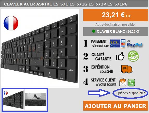 lebonclavier.fr site sérieux avis sur sospc.name