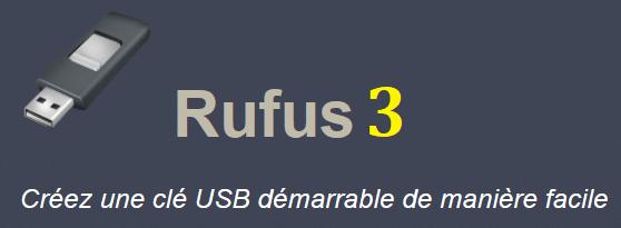 Logiciel en Bref : la nouvelle et troisième version de Rufus est disponible.