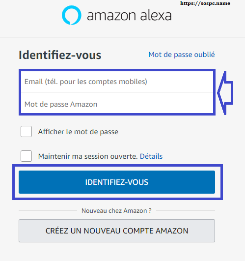 Amazon Echo tutoriel d'installation capture 1.