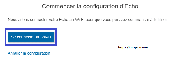 Amazon Echo tutoriel d'installation capture 7.
