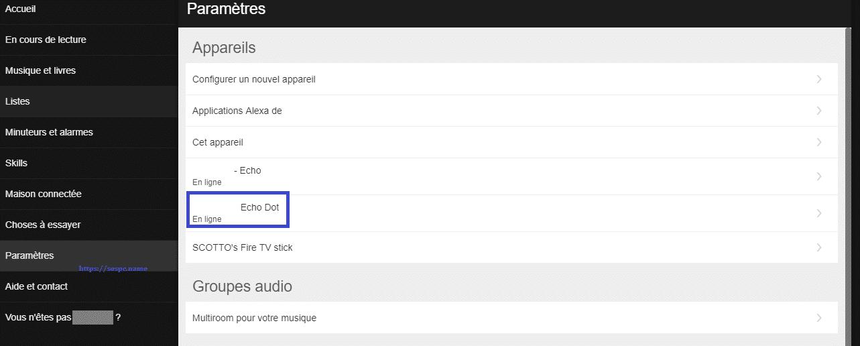 Amazon Echo : remplacer Alexa par Amazon, Echo ou Ordinateur. SOSPC.