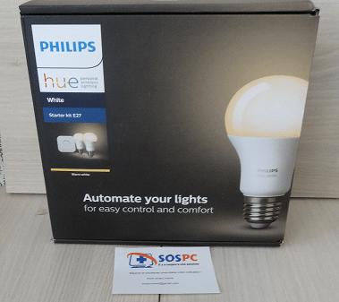 Amazon Echo / Echo Dot : test du Kit d'éclairage Philips Hue. Unboxing 1