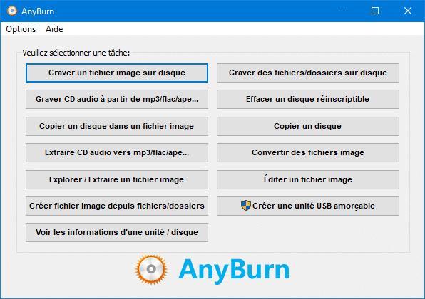 Anyburn, logiciel de gravure tutoriel 1.