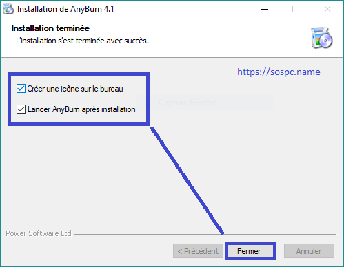 Anyburn, logiciel de gravure tutoriel.